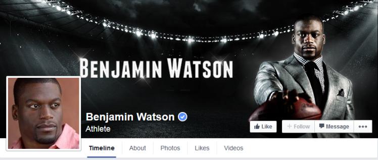 Benjamin Watson facebook