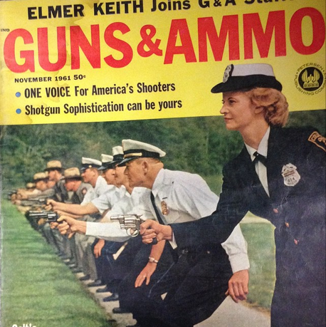 Bray Guns and Ammo Cover 1961